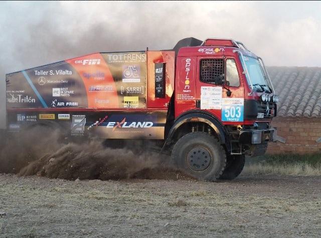 DT Spare Parts va patrocinar el Epsilon Team Truck en el Ral·li Baixa Aragó 2018